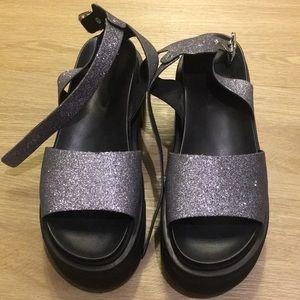 Sparkle Platform Sandals